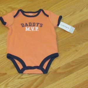 Carter's One PC Romper - NWT
